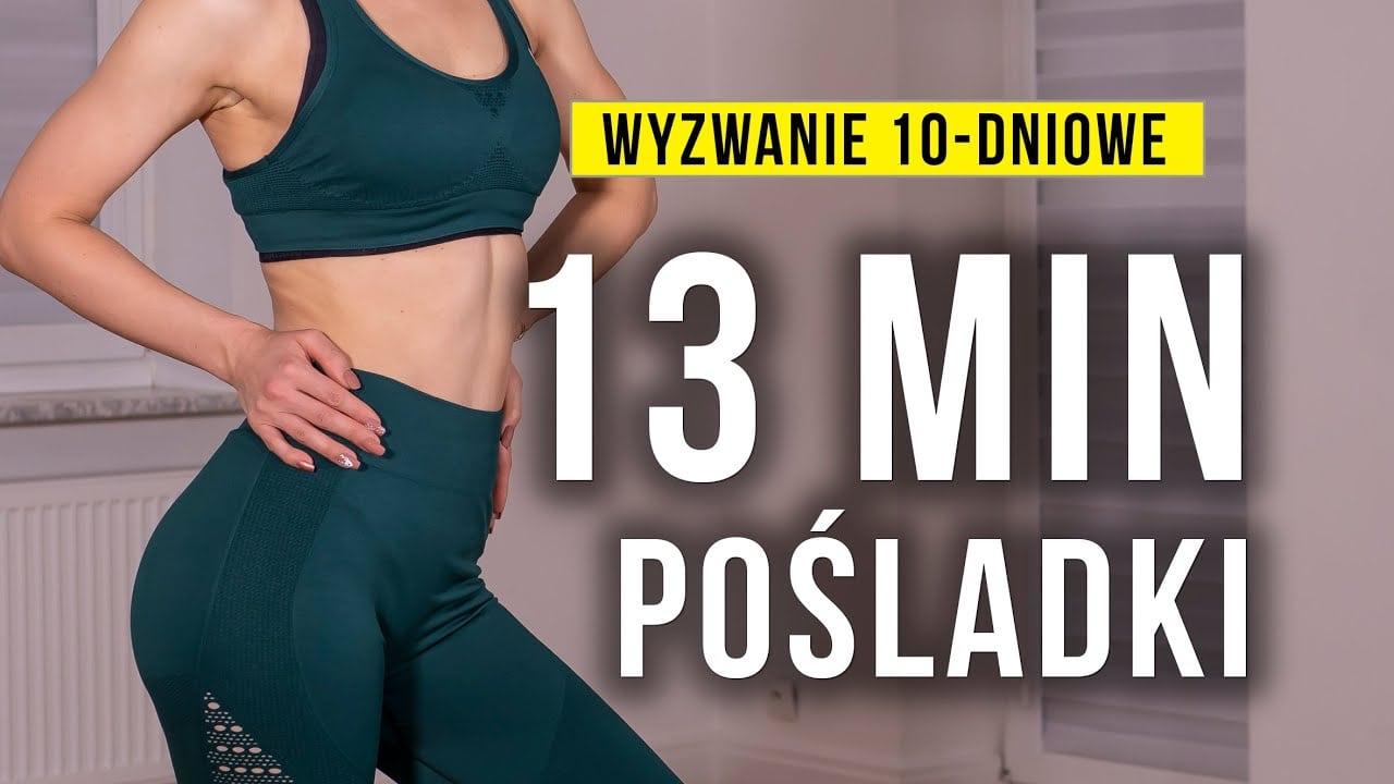 Szybki trening na pośladki z Moniką Kołakowską (Wyzwanie 10-dniowe)