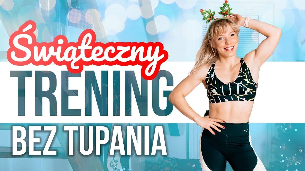 Świąteczny trening bez tupania i skakania z Martą Hennig (Codziennie Fit)