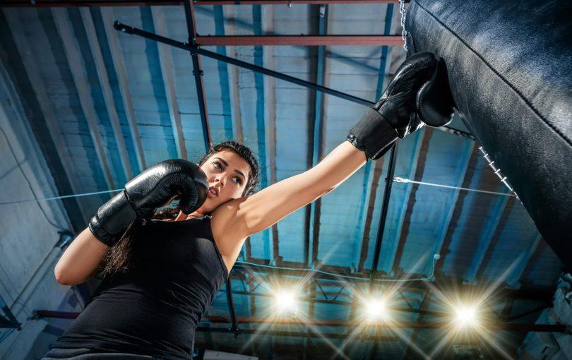 Powrót do formy z treningiem bokserskim. Bądź jak Sandra Kubicka!