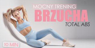 Mocny trening mięśni brzucha z Agatą Zając