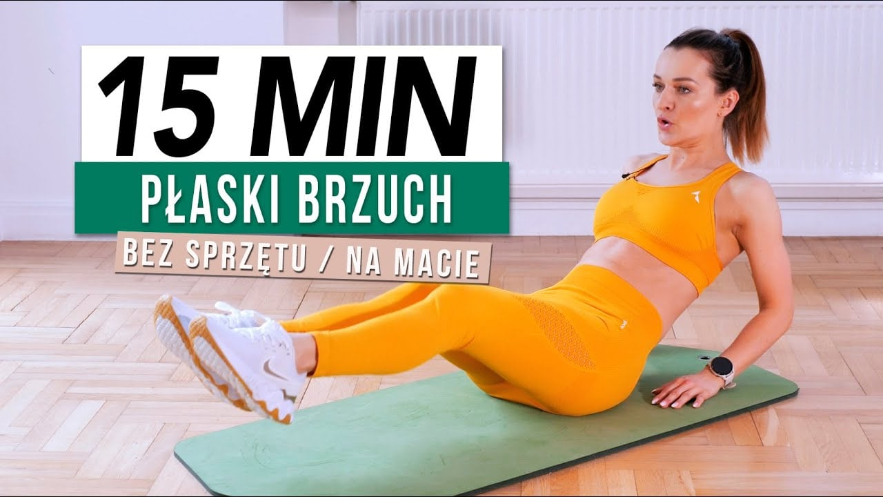 15-minutowy trening brzucha z Moniką Kołakowską