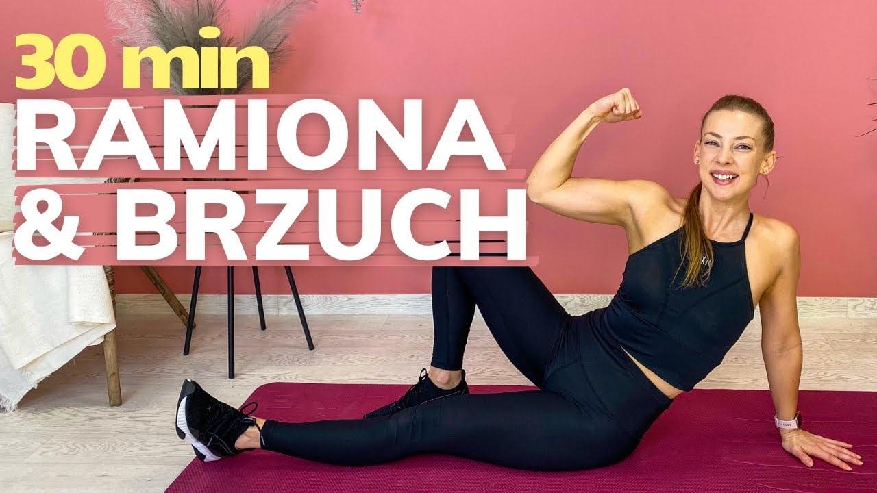 Ekspresowy trening brzucha i ramion z Paulą Piotrzkowską (Trening Fitness)