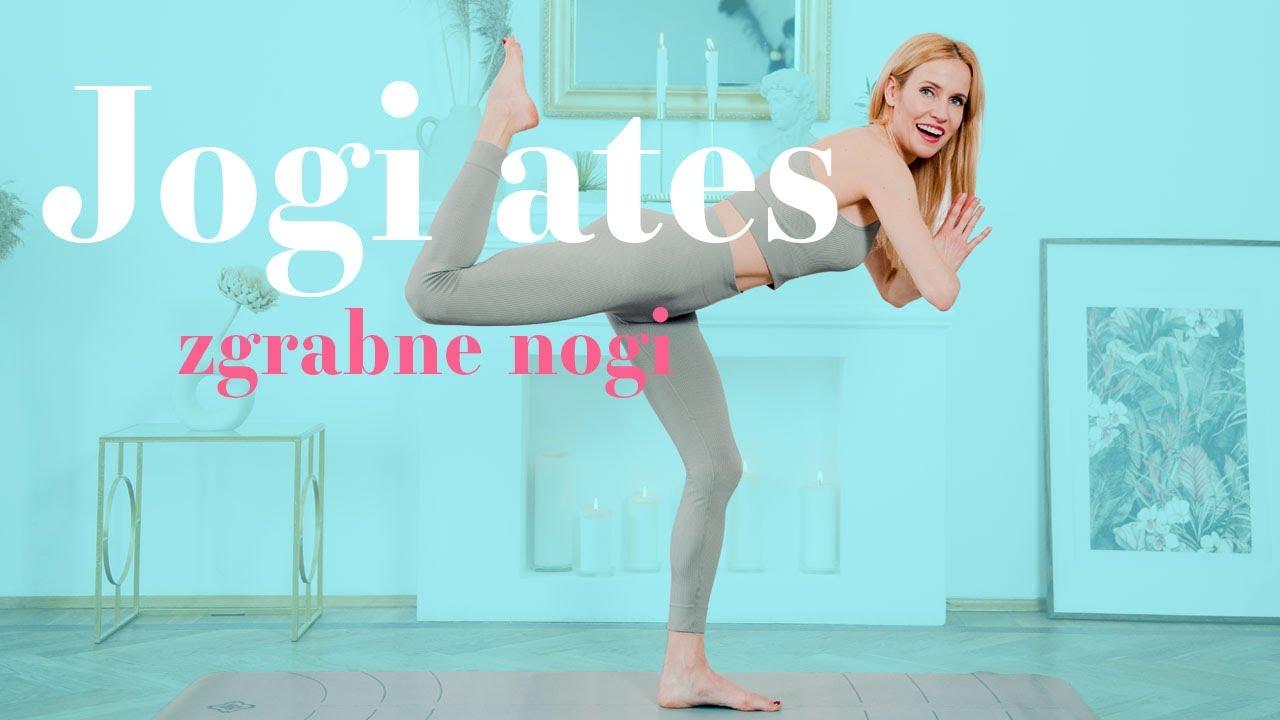 Jogilates – trening na piękne nogi i pośladki (Ola Żelazo)