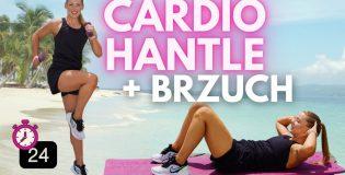 Super Spalanie – ćwiczenia cardio, z hantlami i trening brzucha (Paula Piotrzkowska)