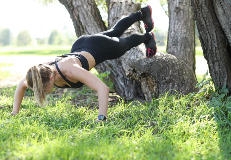 Wykorzystaj słoneczną pogodę i ćwicz na świeżym powietrzu!