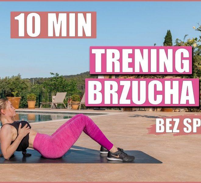 10-minutowy trening brzucha bez sprzętu na lato (Marta Nowak)